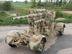 A + S Armsoft, Pre War, Post War, All Types of Military Vehicles Catered For, Military Vehicle Restoration & Refurbishment Specialists, Norfolk, Previous Projects - 88mm Flak 37 Anti Aircraft Gun
