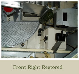 Previous Projects CVR T Sabre 02 FD 14 Fighting Compartment Section Front Right Restored