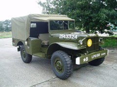 A + S Armsoft, Pre War, Post War, All Types of Military Vehicles Catered For, Military Vehicle Restoration & Refurbishment Specialists, Norfolk, Previous Projects - Dodge WC51